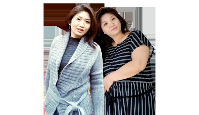 プログラム後の40代女性の外見