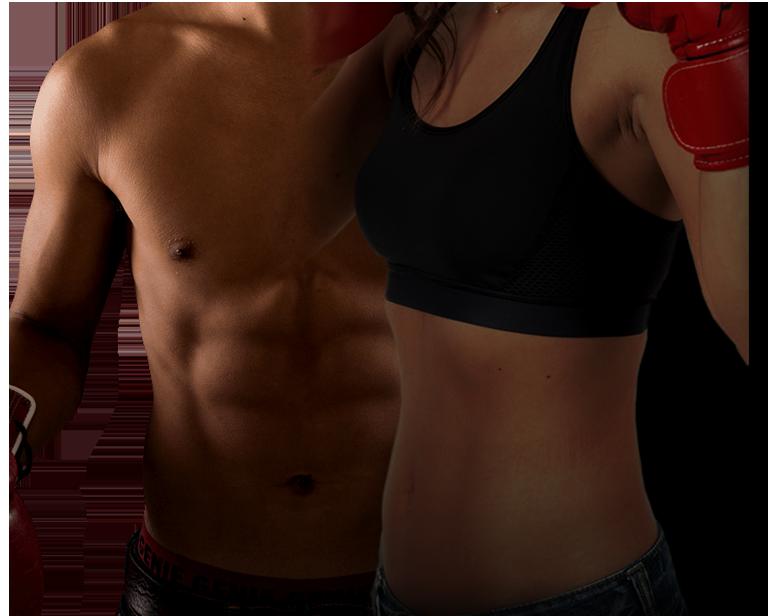 ボクシングと炭水化物で健康的なダイエットに成功した男性