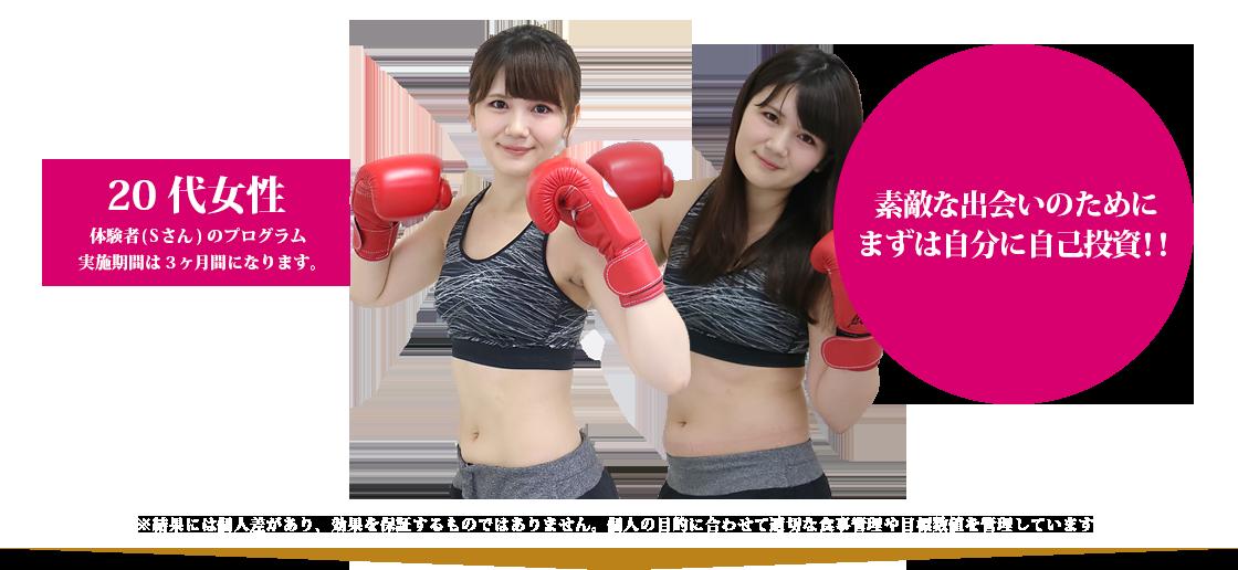 20代女性 63.2kg→54.1kg 3ヶ月で-9.1kg